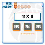 Math Facts Hoops